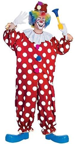 Clown pointillé - costume costumé adulte