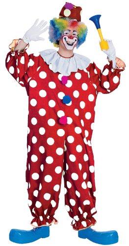 Pagliaccio punteggiato - costume adulto, vestito operato