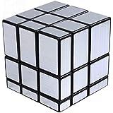 Shengshou Cubo MIRROR MAGIC CUBE Plata SpeedCube Speed Cube 3x3 Asimetrico 4260