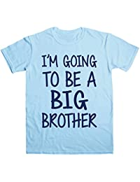 Postees I'm Going to Be A Big Brother Kids T-Shirt