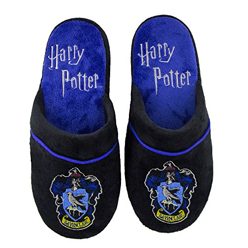 Pantuflas Zapatillas Cinereplicas Harry Potter - Oficial - Alto Confort y Calidad - Sole Pillow Walk - Adulto (M/L, Ravenclaw)