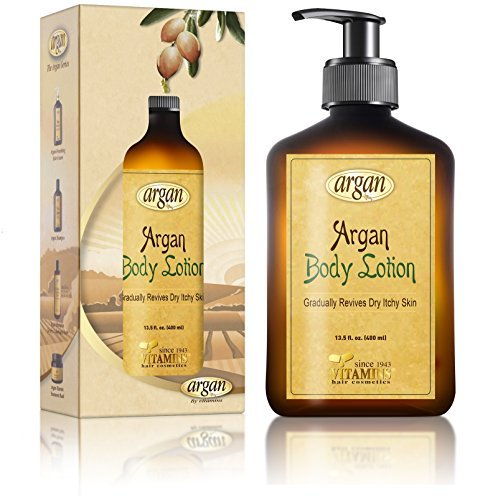 Intensive Hair-repair-therapie (Vitamins Feuchtigkeitsspendende Body Lotion mit marokkanischem Arganöl für trockene Haut - Wirksame Feuchtigkeitscreme für den Körper)