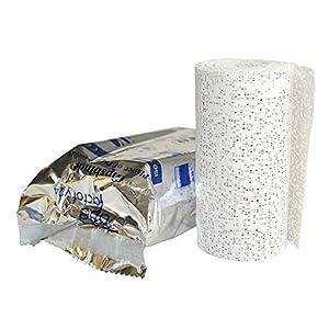 8x Gipsbinden a 10 cm x 300 cm (=24 Meter/ 2,4m²) von Tapefactory24 – Gipsbinde für Babybauch, Gipsmasken, Modelliergewebe für Modellbau NEU