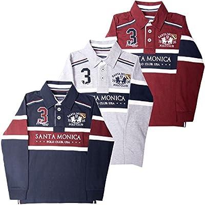 Santa Monica Polo Club - Polo - Polo - Manga corta - para niño