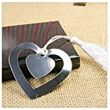 Gifts Metal Bookmark With Tassel Book Markers Wedding Souvenirs Baby Shower Party Favors With Box Packaging A