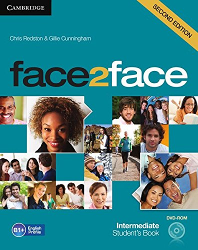 Face2face : Intermediate Students Book (1DVD)