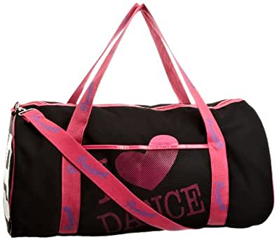 Pineapple Women S Love Dance Gym Bag Black Pink Ea1003