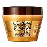 L'Oréal Paris Elsève Huile Extraordinaire Masque Baume Nutrition pour Cheveux Très Secs 300 ml - Lot de 3