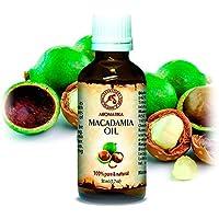 Kaltgepresstes Macadamianussöl - 100% Rein Und Natürlich - Macadamia Öl 50ml Glasflasche - Basisöl -Macadamia... preisvergleich bei billige-tabletten.eu