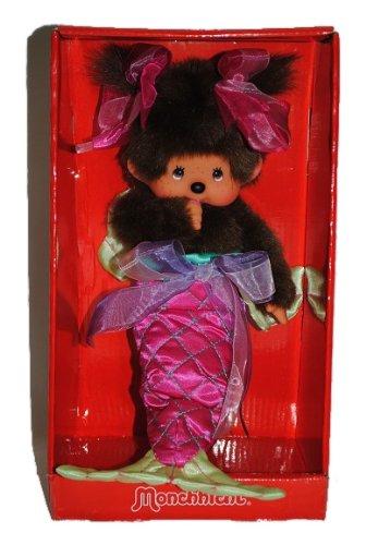 Meerjungfrau MONCHHICHI ausziehbar ! MONCHICHI Girl Nixe Mädchen rosa (Kostüm Monchichi)