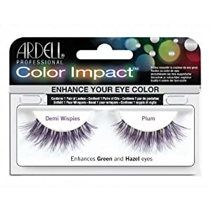Ardell Color Impact Lashes, Demi Wispies Plum by Ardell