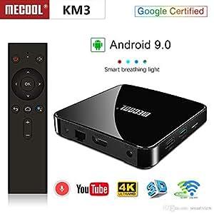 MECOOL KM3 Android TV Box Amlogic S905X2 4GB/64GB Dual