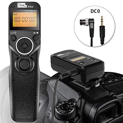PIXEL TW-283 DC0 Fernauslöser Drahtauslöser Funkfernausloeser Fernbedienung für Nikon Kameras D850 D810 D700 D300 D500 D1 D2 D3 D4  D5