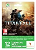 Xbox Live Gold 12-Month Membership Card with 1 Bonus Month - Titanfall Branded (Xbox One/360)