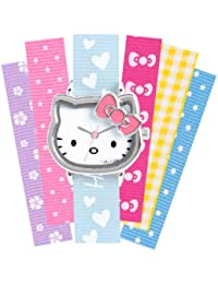 Hello Kitty Kinder-Armbanduhr Analog mehrfarbig HK028