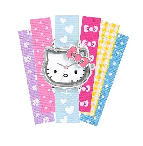 Hello Kitty - HK028 - Montre Enfant - Quartz Analogique - Bracelet Autre Multicolore