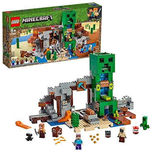 LEGO Minecraft - La mine du Creeper, Jeu Construction et Aventure 8...