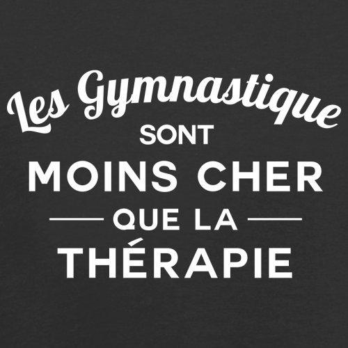 Les gymnastique sont moins cher que la thérapie - Femme T-Shirt - 14 couleur Noir
