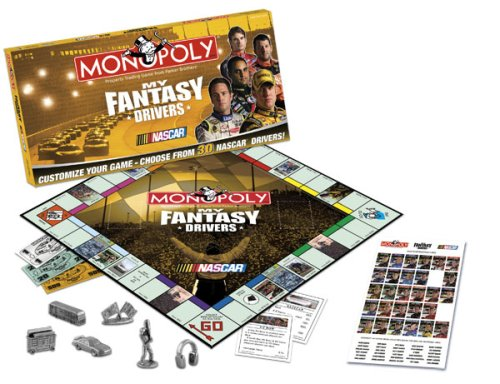 My Fantasy Drivers Monopoly NASCAR