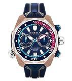Azul / Oro Rosa Pro Diver Relojes de Brera Orologi
