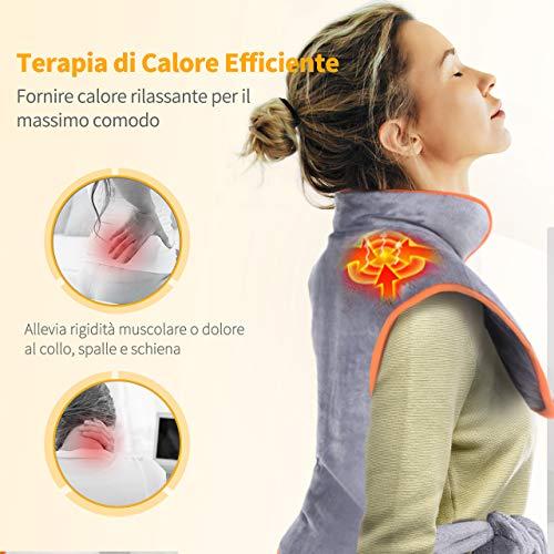 Zoom IMG-1 termoforo elettrico cervicale e spalle