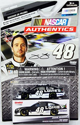 nascar-authentics-test-series-jimmie-johnson-48-die-cast-car-by-nascar
