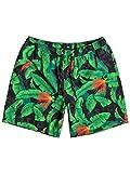 Quiksilver Glitched 17' - Swim Shorts - Short de volley - Homme - L - Vert