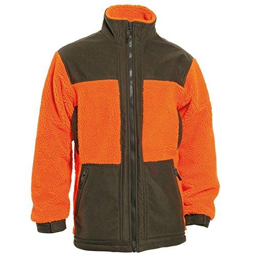 "Deerhunter 5960 ""Retrieve Faserpelz Jacke mit Kontrast"" 669-Orange, Größe M"
