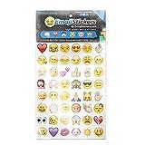 SODIAL(R) Emoji Emoticon-Packung-Cut-Aufkleber in iPhone Instagram