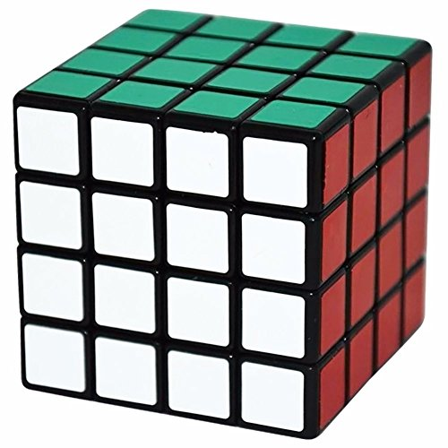 c Cube Denksportaufgaben Puzzle Spielzeug-Geschwindigkeits-Würfel 62mm, Schwarz (Twistys Großen)