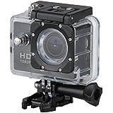 Excelvan TC-DV6 12MP 30M Étanche WIFI Caméra Sport FHD Vidéo DV H264 1080p Caméra Embarquée + Kit de Accessoires Montage