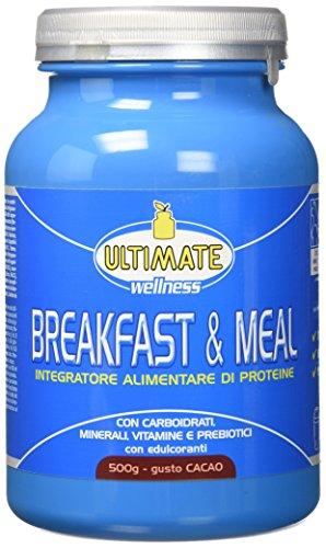 Ultimate Italia Breakfast & Meal Proteine con Carboidrati 500 gr