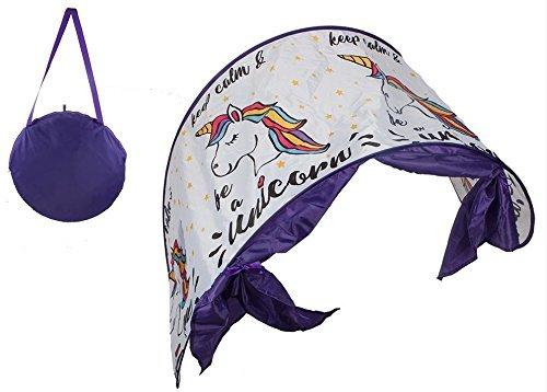 Toyland® Pop Up Magical Unicorn Betthimmel - Dream Screen Bed Tunnelzelt Alter 3+