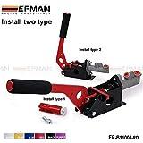 HYDRAULIC RACE HORIZONTAL E-BAKE HAND BRAKE LEVER DRIFT/DRIFTING L-SHAPED (default color RED) EP-B11001