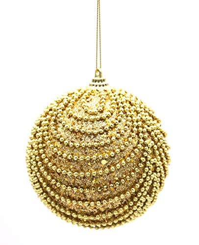 B&P Italia Set of 6 Ball Pendants with Beads, Gold,, used for sale  Delivered anywhere in UK