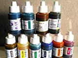 #10: Arul Calligraphy Ink Set Of 10 Colors ( 30 ml Each )