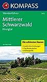 Mittlerer Schwarzwald, Kinzigtal: Wanderführer mit Tourenkarten und Höhenprofilen (KOMPASS-Wanderführer, Band 5412)