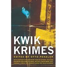 Kwik Krimes by Otto Penzler (20-Aug-2013) Paperback
