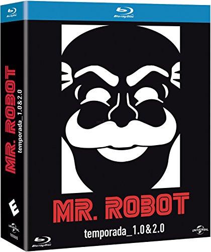 mr. robot (seasons 1&2) (MR. ROBOT: TEMPORADAS 1-2, Importé d'Espagne, langues sur les détails)
