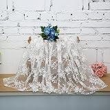 KING DO WAY 1 Stueck Spitzen serie DIY Lace Trim handgefertigte tuch baumwolle haushalt Weiss 1.42yards