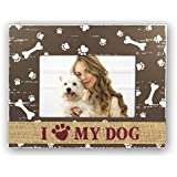 ZEP Dido - Portafotos en madera para perro en tamaño 10x15