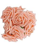 wicemoon 7cm Künstliche Schaum Simulation Blumenstrauß Rose Blumen Brautschmuck Hand hält Blume Hochzeit Material