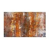 KESOTO 3D Granitbrocken Holzoptik Boden Aufkleber Wandaufklelber Wandtapete für Wohnzimmer Schlafzimmer - # 6