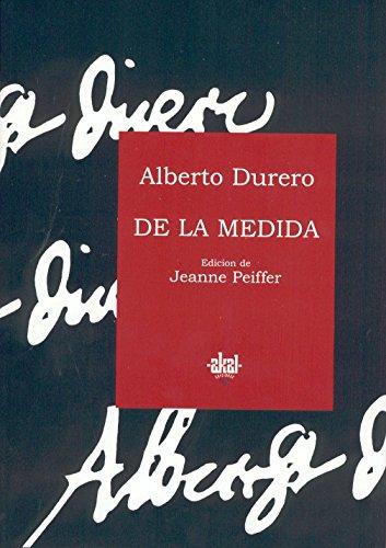 De la medida (Fuentes de arte) por Alberto Durero