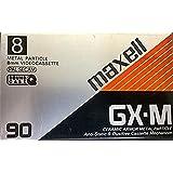MAXELL Cassette vidéo 8 pour caméscope Qualité 8mm 90mn GX-M90