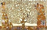 The Tree Of Life, Stoclet Frieze (1909) Gustav Klimt Art 91.5x61cm Poster - PopArtUK - amazon.co.uk