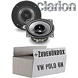 VW Polo 6N - Lautsprecher Boxen Clarion SRG1013R | 10cm 100mm Auto Einbauzubehör - Einbauset