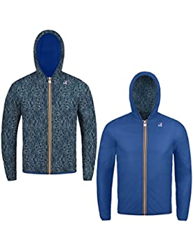 K-Way JACQUES PLUS DOUBLE GRAPHIC SHI BLUE-ROYAL