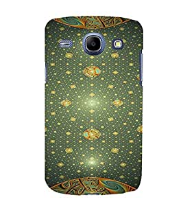 PrintVisa Modern Art Patten 3D Hard Polycarbonate Designer Back Case Cover for Samsung Galaxy Core i8262