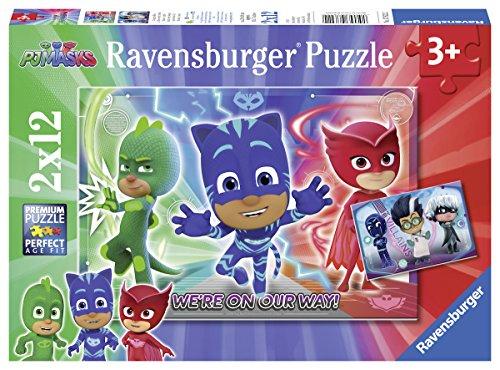 Ravensburger Kinderpuzzle 07825 PJ Masks Abenteuer in der Nacht Puzzle Neu/New 3D Puzzles